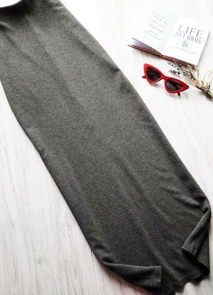 Длинная юбка в пол