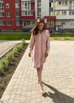 Платье-рубашка-кардиган y.two (италия) размер универсальный
