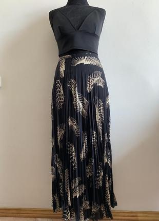 Длинная плиссированная юбка в пол gerry weber