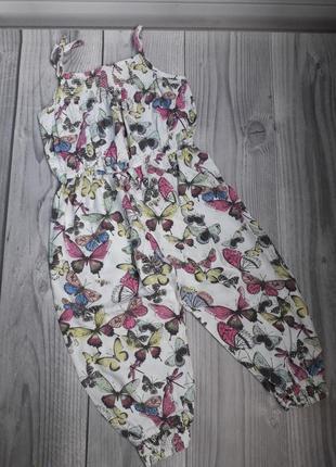 Ромпер комбинезон штаны майка комплект костюм