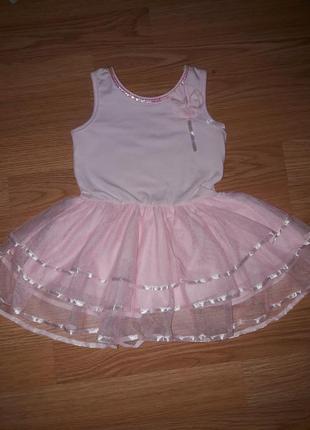 Нарядное платье на девочку/ на 24 мес