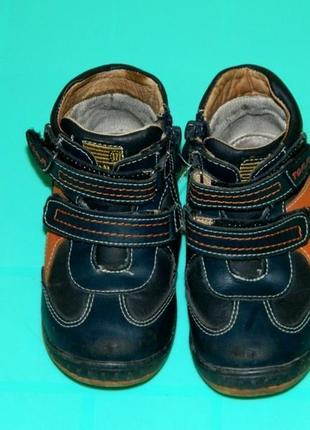 Детские демисезонные ботинки на мальчика р. 24 tom. m