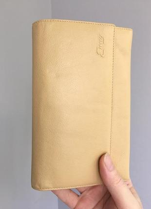 Кошелёк портмоне кожаный, много отделений, enny.