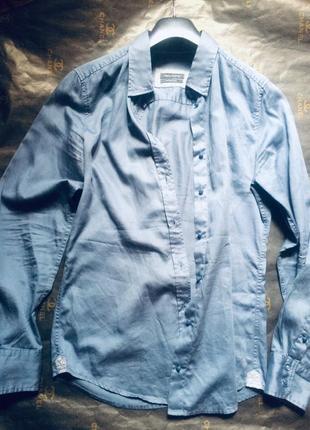 Рубашка цвета маренго marc o'polo