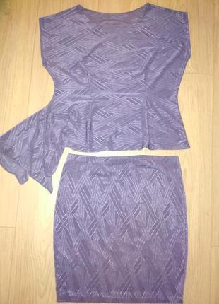 Топ и юбка