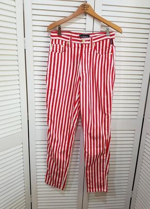 Стильные брюки в полоску versace