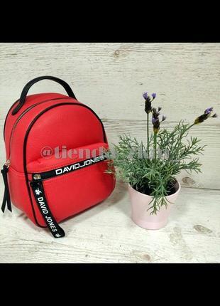 Городской рюкзак david jones 5989-2t красный
