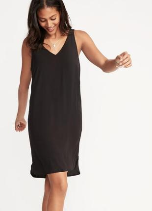 Маленькое и миленькое черное платье gap oldnavy