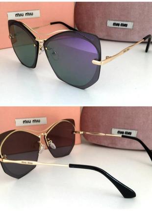 Новинка 2019 красивые женские солнцезащитные очки зеркальные линзы