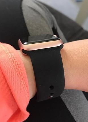 Силіконовий ремінець sport band для часов apple watch