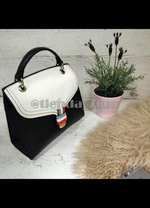 Стильная каркасная сумка через плечо / клатч david jones cm5168t черный