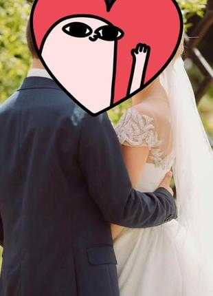 Весільна сукня плаття crystal свадебное платье