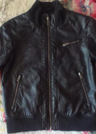 Стильная куртка ветровка h&m мальчику 3- 5 лет р 110