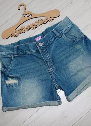Шорты джинсовые разм s или на 13-14 лет