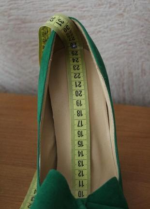 Невероятно красивые туфли изумрудного цвета5 фото