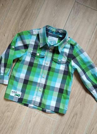 Tu котоновая рубашка