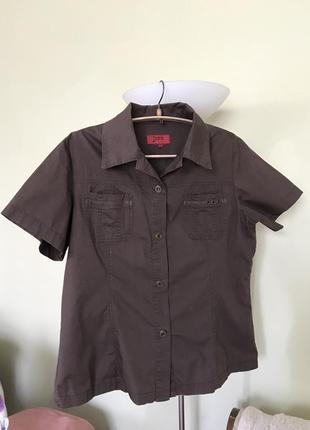 Летняя рубашка-сафари