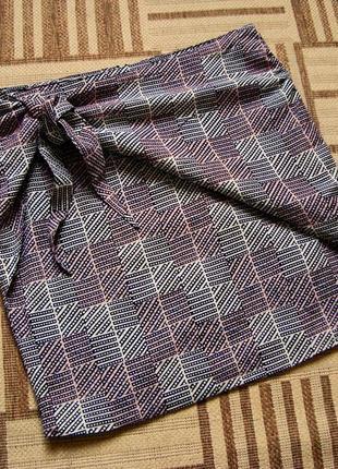 Maison scotch, оригинал, юбка, размер 1, s, м.