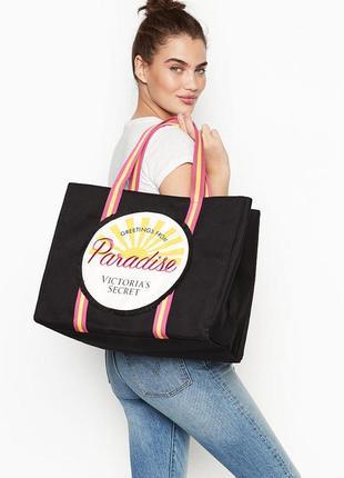Пляжная городская сумка victoria's secret