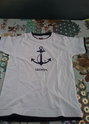 Хорошая  футболка 4-6л