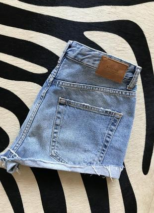 Джинсовые шорты джинсові шорти шортики bershka