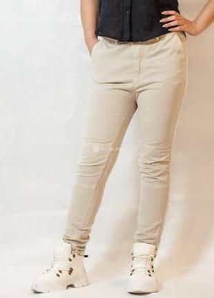 Женские брюки /штаны высокая посадка  zara basic morocco
