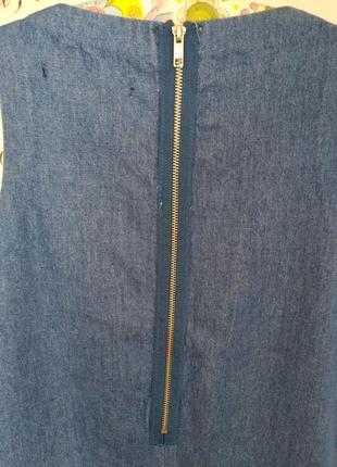 Джинсовое платье zara5 фото