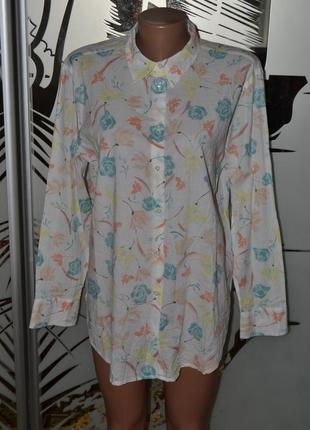 Легкая рубашка блузка