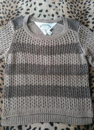 Теплый свитер tommy hilfiger denim