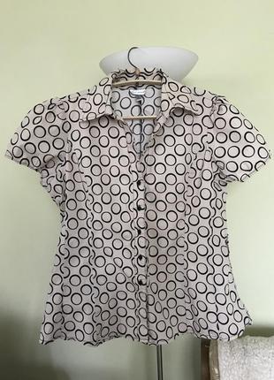 Хлопковая летняя блузка