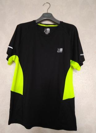 Фирменная футболка для бега, тренировки, бренда karrimor,р.м.оригинал
