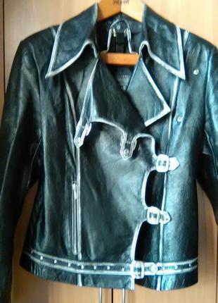 Классная кожаная куртка-косуха