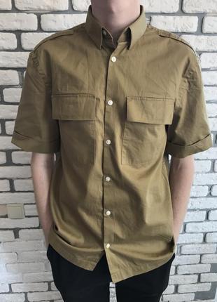 Рубашка с коротким рукавом от h&m