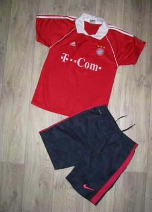 Форма футбольная рост 140-146 см спортивная 10-11-12 лет футболка шорты