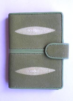 Документница для карт + для паспорта,100% нат. кожа ската+телячья, есть доставка бесплатн