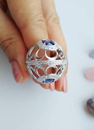 Масивное серебряное кольцо