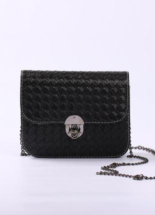 Маленькая сумочка черная (клатч)
