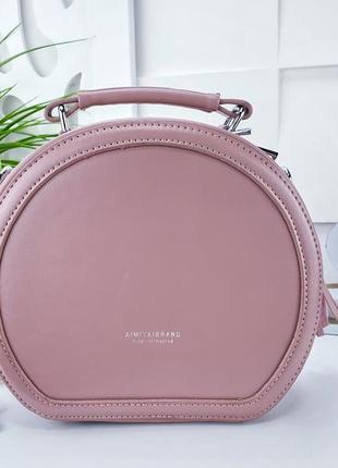 Клатч розовый