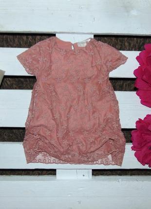 Ніжне мереживне платтячко zara baby girls ріст 92