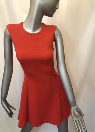 Красное короткое платье miss selfridge