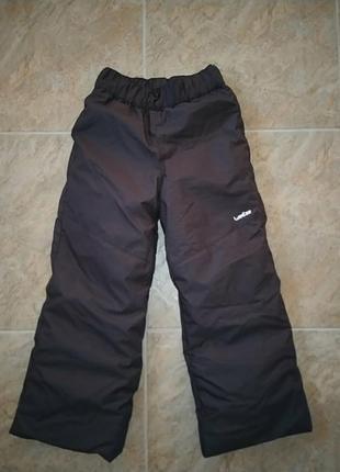 Новые мембранные брюки на зиму от wedze decathlon на 5-6 лет (115-124)