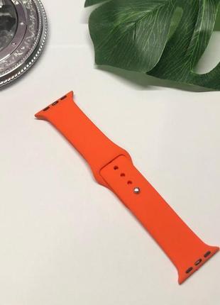 Ремешок для часов apple watch силиконовый