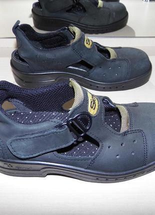 Кожаные сандалии - sievi - 37 размер - финляндия!!оригинал!!!новые!!