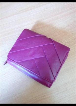 Кожанный кошелёк
