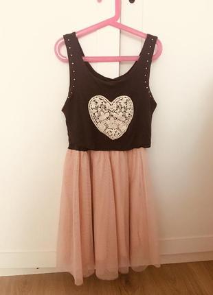 Стильное платье для девочки h&m, 12-13лет
