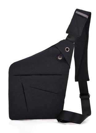 Сумка-мессенджер cross body bag 2 черная