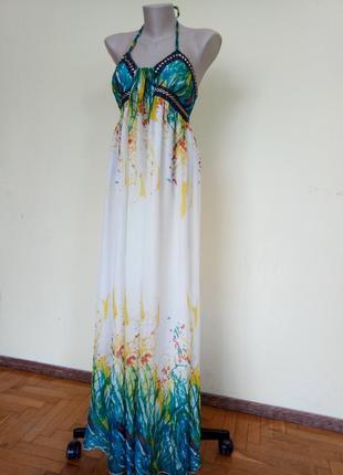 Шикарное легкое платье красивая расцветка