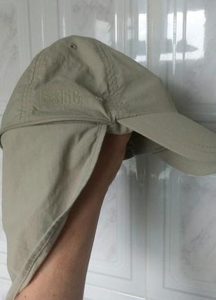 Летняя кепка salewa трекинговая с защитой