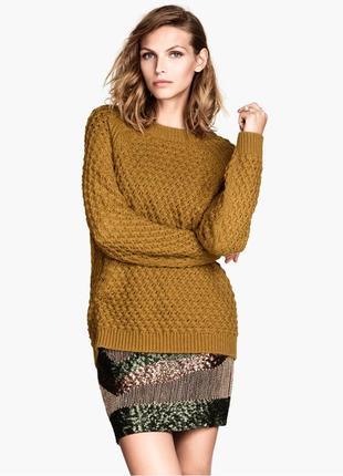Очень красивый классический свитер от h&m
