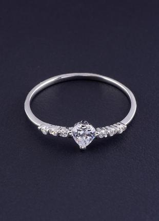 Кольцо 'xuping' фианит (родий) 0627420